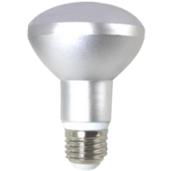 Bombilla led silver electronic reflectora r63 -  ip20 -  780 lm -  9w=60w -  e27 -  3000k -  regulable a+