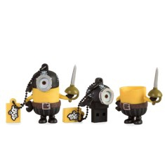 Memoria usb 2.0 tribe 16 gb minions movie pirata
