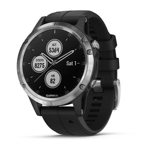 Smartwatch garmin fenix 5 plus negro - plata