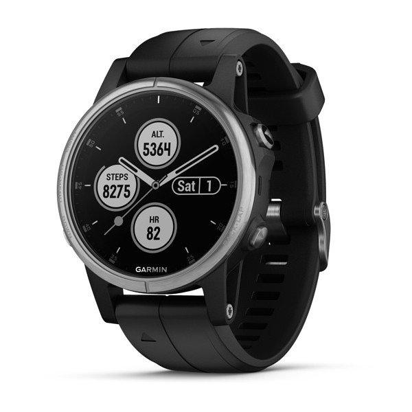 Smartwatch garmin fenix 5s plus negro - plata
