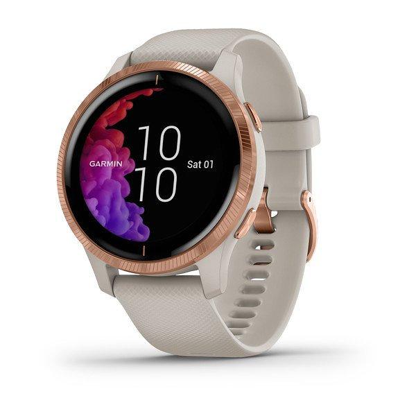 Smartwatch garmin venu azul beige rose gold