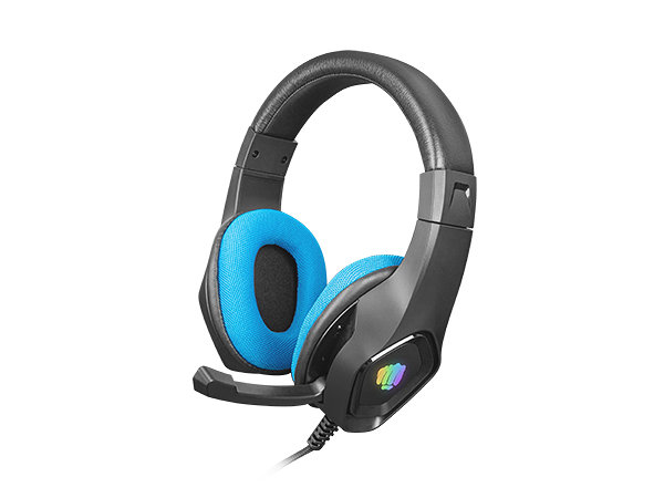 Auriculares gaming fury phantom negro - azul