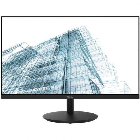 Monitor led ips 23.8pulgadas  msi pro mp242 - vga - hdmi - 60hz - 5ms - vesa 100x100 - altavoces