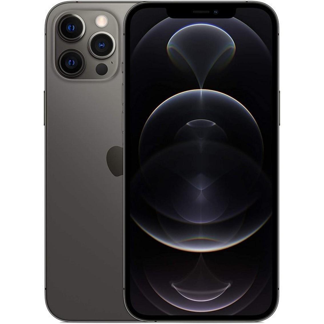 Apple iphone 12 pro max 128gb graphite sin cargador - sin auriculares - a14 bionic - 12mpx - 6.7  mgd73ql - a