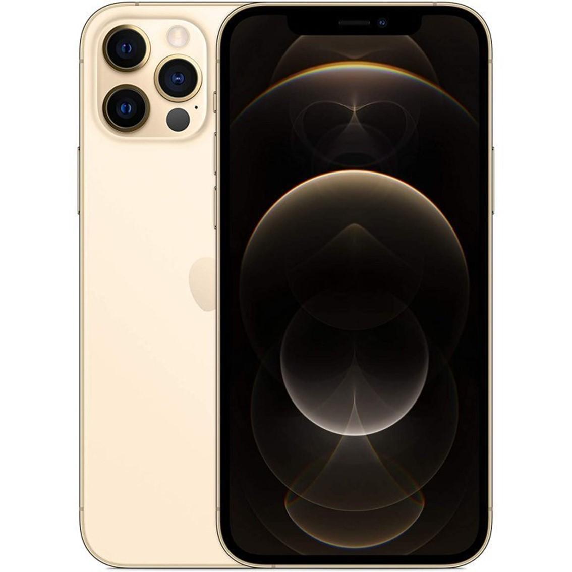 Apple iphone 12 pro 128gb gold sin cargador - sin auriculares - a14 bionic - 12mpx - 6.1 mgmm3ql - a