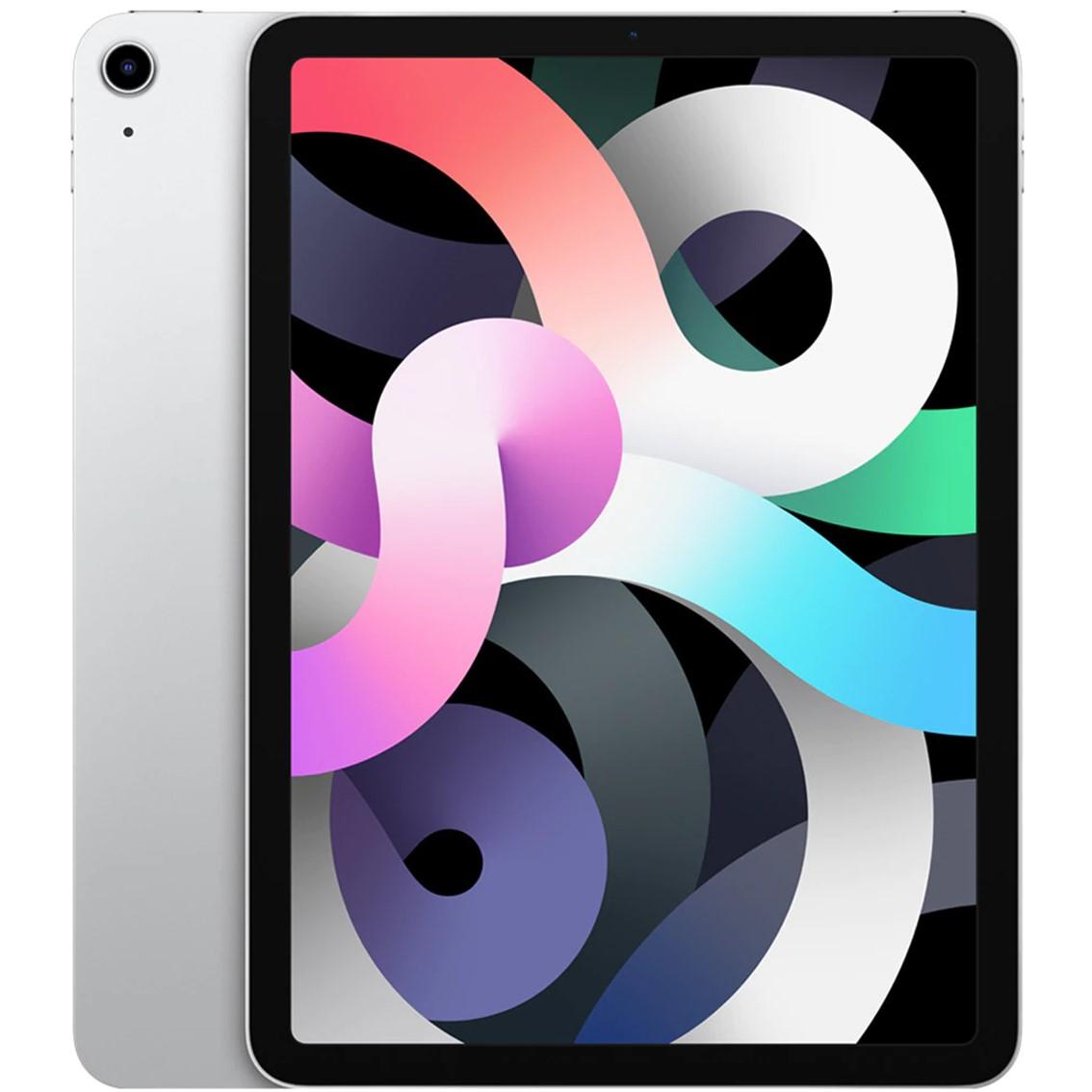 Apple ipad air 4 10.9  2020 256gb wifi silver 8gen 10.9 - liquid retina - a14 - 12mpx - comp. apple pencil 2 myfw2ty - a