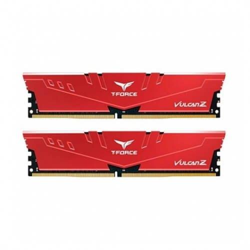 Memoria ram ddr4 32gb 2x16gb 3200mhz teamgroup vulcan z rojo - cl 16 - 1.35v tlzrd432g3200hc16fdc01