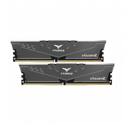 Memoria ram ddr4 64gb 2x32gb 3200mhz teamgroup vulcan z gris -  cl 16 -  1.35v tlzgd464g3200hc16fdc01