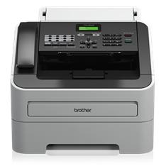 Fax brother laser monocromo 2845 a4 -  20cpm -  16mb -  bandeja 250 hojas -  adf 20 hojas -  auricular