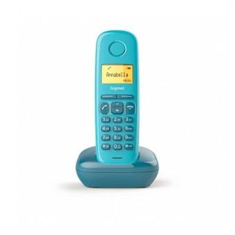 Telefono fijo inalambrico gigaset a170 azul 50 numeros agenda -  10 tonos