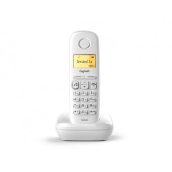 Telefono fijo inalambrico gigaset a270 blanco 80 numeros agenda -  10 tonos