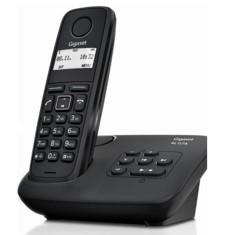 Telefono fijo inalambrico gigaset al117a - contestador - negro