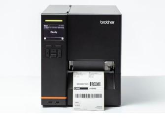 Impresora brother industrial tj - 4420tn etiqueta 4pulgadas