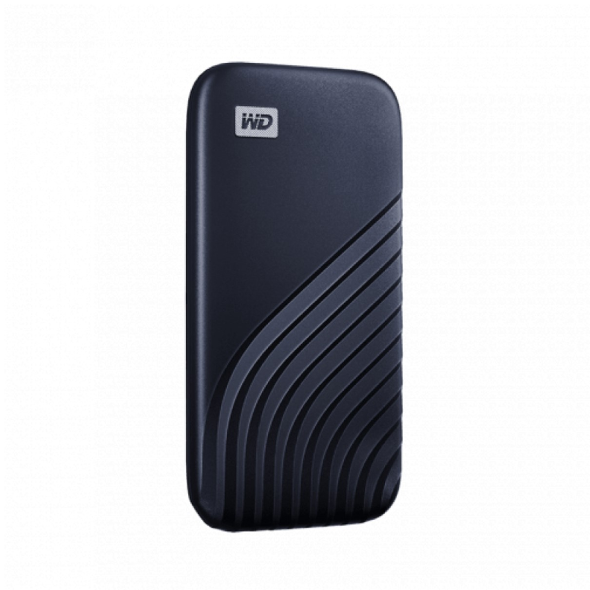 Disco duro externo hdd wd western digital 1tb my passport ssd usb - c space gray