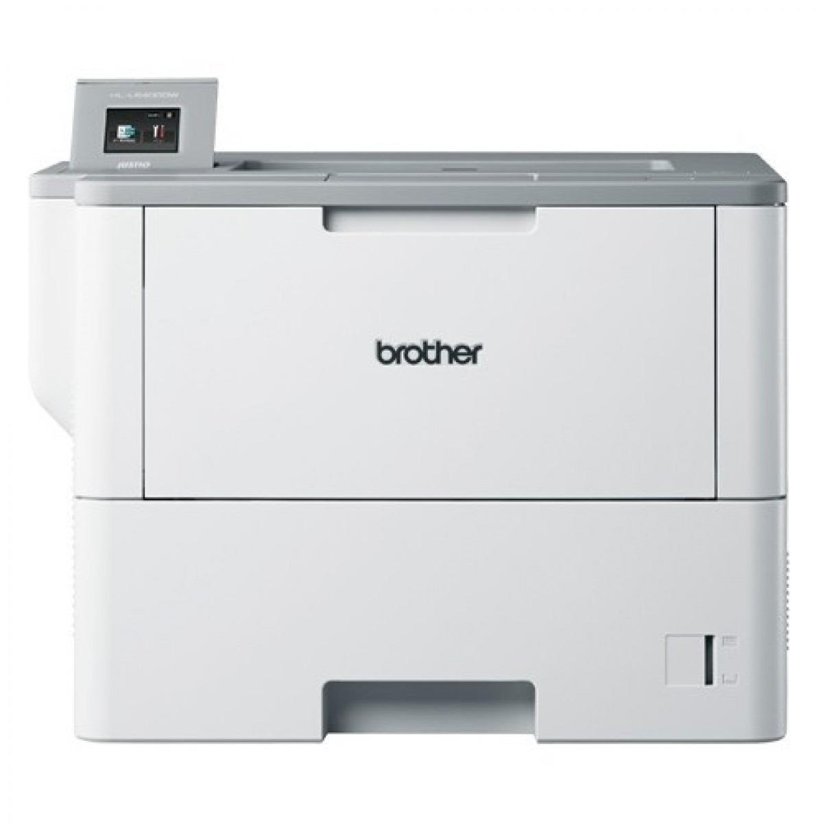 Impresora brother laser monocromo hll6400dw - a4 - 50ppm - 512mb - wifi - bandeja estandar 520 hojas con multiproposito 50 hojas