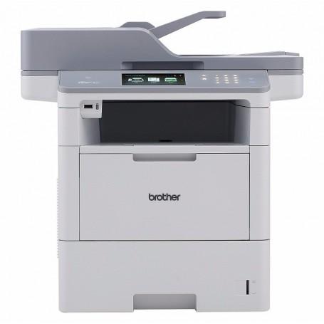 Multifuncion brother laser monocromo mfcl6900dw fax -  a4 -  50ppm -  1gb -  usb -  red -  wifi -  duplex todas las funciones -  bandeja 520 hojas -  adf 80 hojas