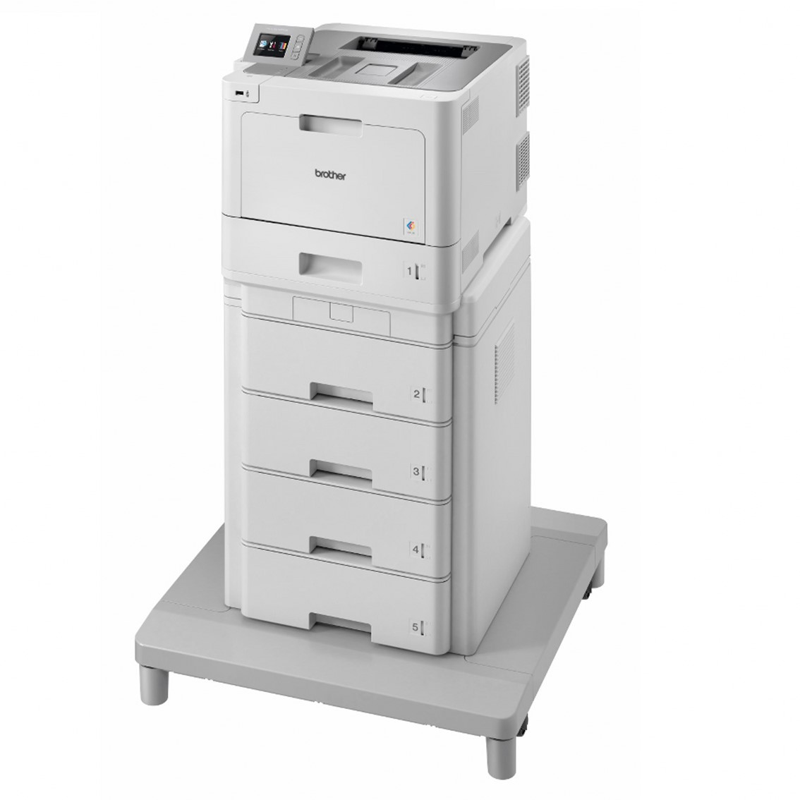 Impresora brother laser - led color hll9310cdw a4 -  31ppm -  1gb -  usb -  duplex impresion -  nfc -  wifi -  red cableada -  conectividad movil - capacidad de 2380 hojas -  4 toners de 6500 pag in