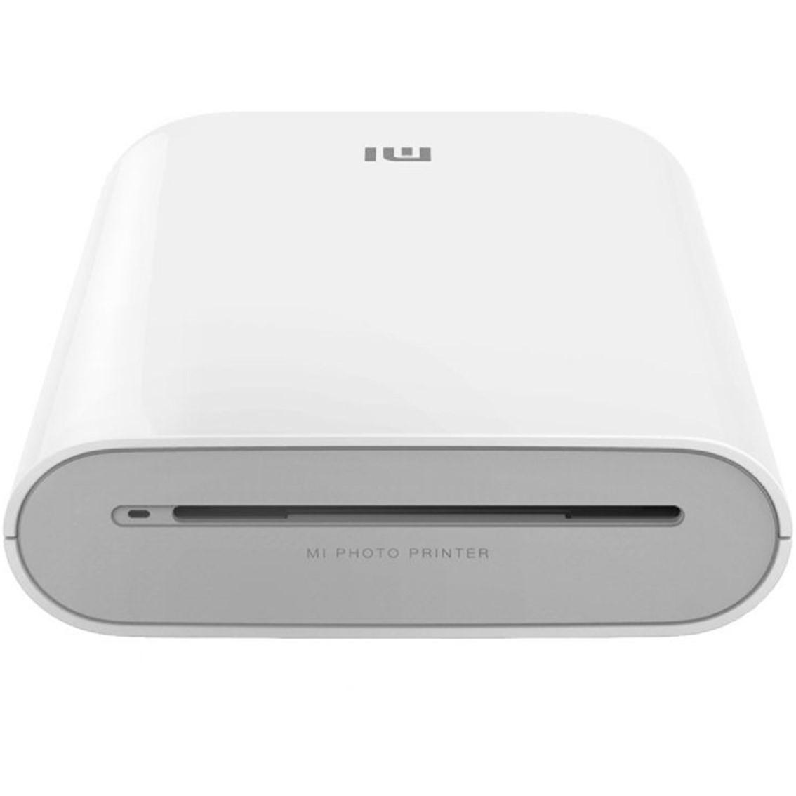 Impresora portatil fotografica xiaomi mi portable photo printer bluetooth blanca