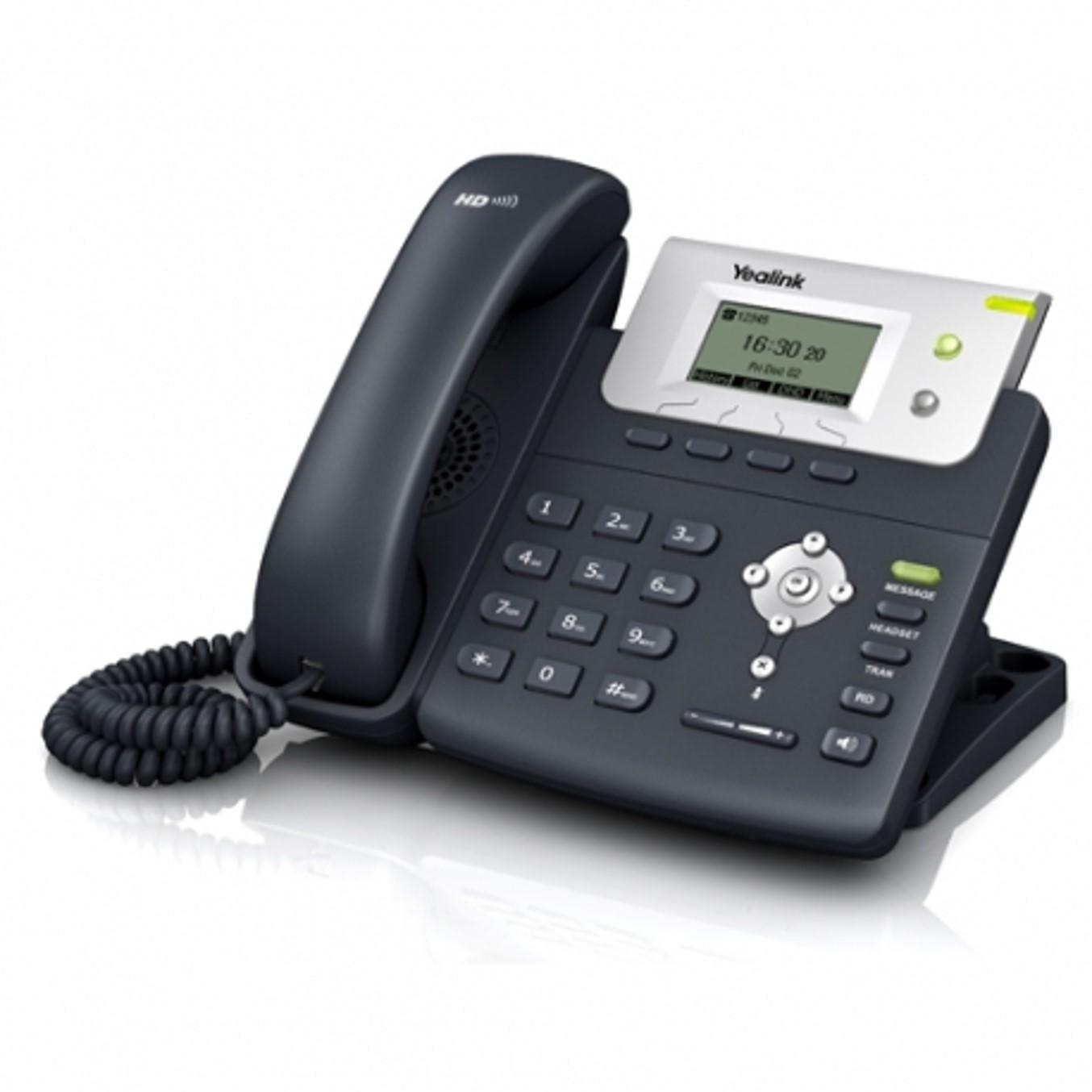 Telefono ip yealink sip - t21p full duplex -  1000 entradas