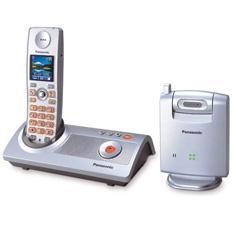Telefono inalambrico digital panasonic kx - tg9140 con camara contestador digital y camara a color vigilancia
